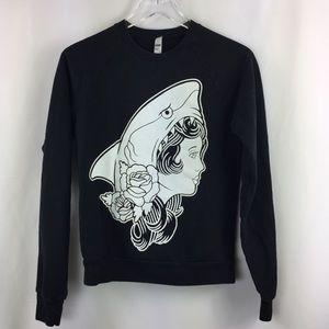 Shark Girl Macklemore & Ryan Lewis Crew Sweatshirt